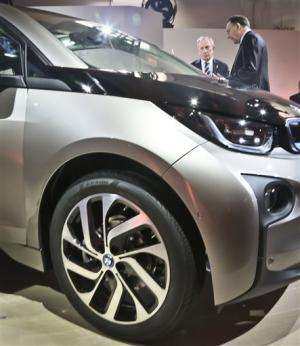 BMW pulls wraps off i3 electric car