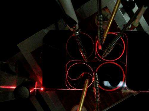 50 meters of optical fiber shrunk to the size of microchips