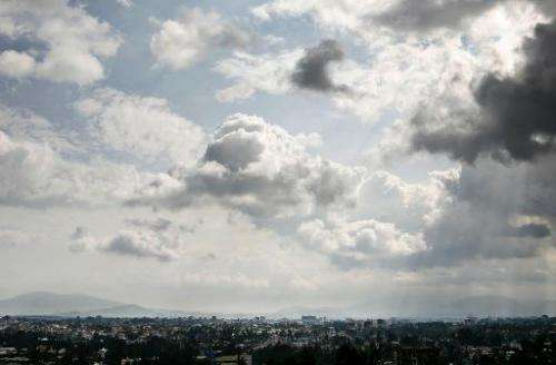 A general view of Addis Ababa September 9, 2007 in Ethiopia