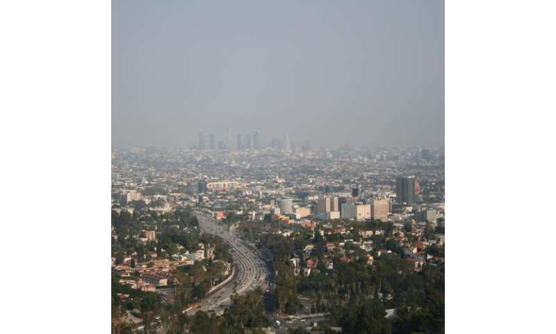 Researchers model impact of aerosols over California: Findings may clarify effectiveness of regional pollution controls