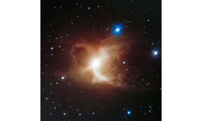 A close look at the Toby Jug Nebula