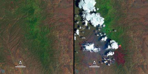 After a fire, before a flood: NASA's Landsat directs restoration to at-risk areas