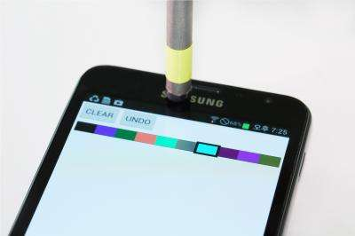 A magnetic pen for smartphones adds another level of conveniences