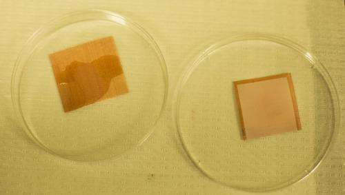 A material that most liquids won't wet