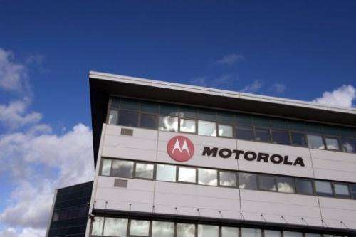 A Motorola Mobility plant in Toulouse, France is pictured on December 26, 2012