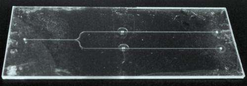 An all-glass lab-on-a-chip