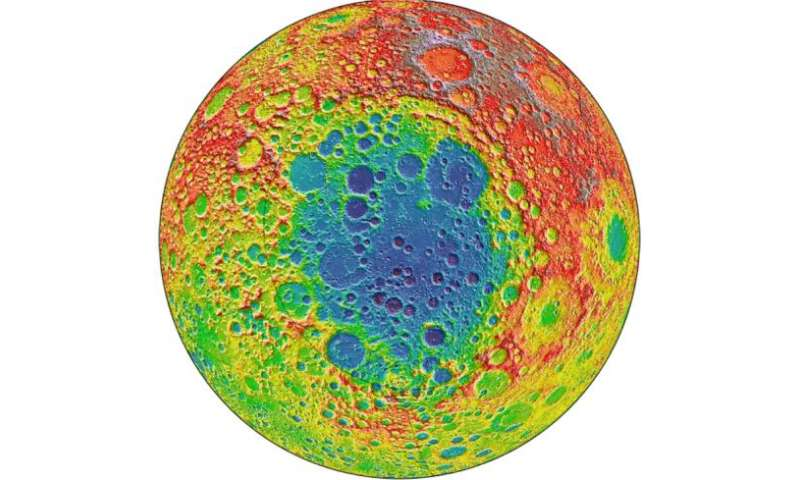 Ancient crater could hold clues about moon's mantle