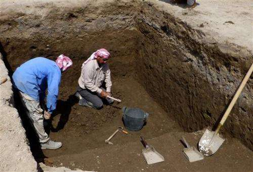 Ancient site unearthed in Iraqi home of Abraham