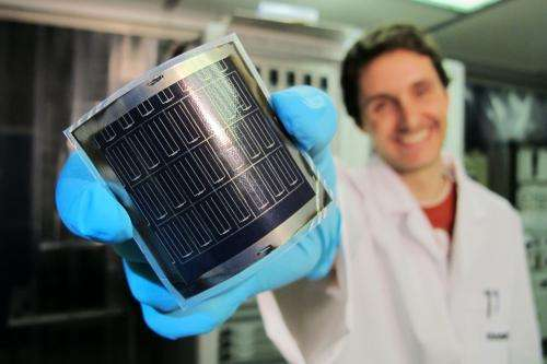 A new world record for solar cell efficiency