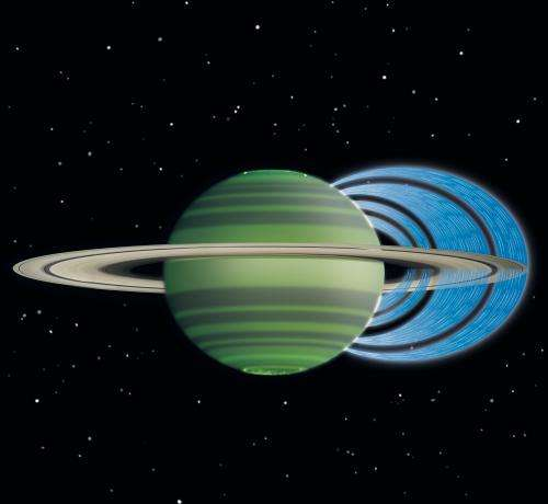 Astronomers using Keck Observatory discover rain falling from Saturn's rings