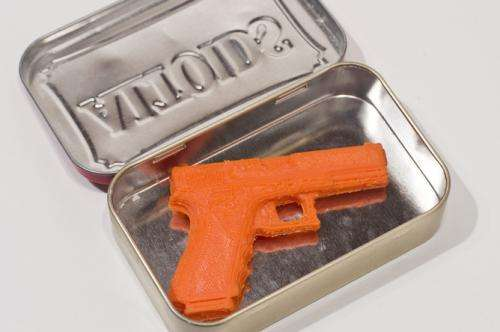 A violent debate: Could guns be made at home by 3-Dprinters?