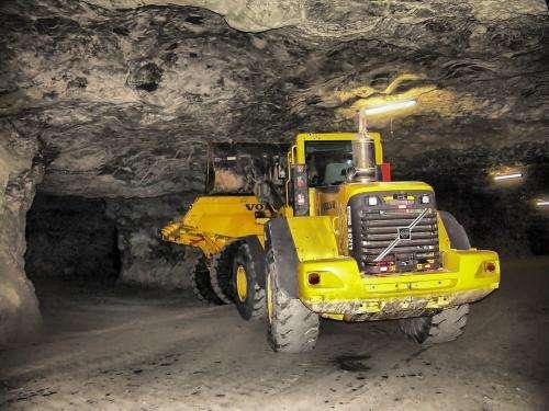 Banishing explosive sparks in underground mines