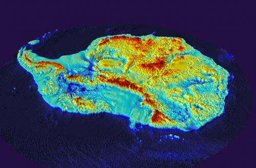 Bedmap2 gives scientists a more detailed view of Antarctica's landmass