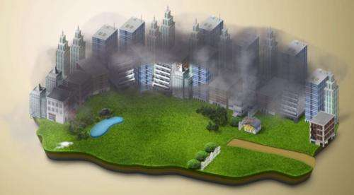 Chinese to test electrostatic smog cleaning concept in a park