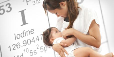 Breastfeeding provides babies with iodine
