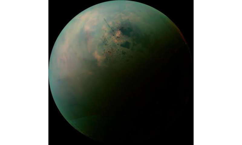 Cassini gets new views of Titan's land of lakes