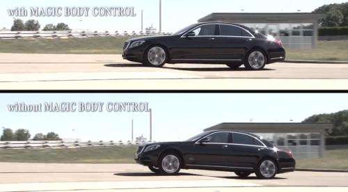 Mercedes-Benz S-Class stability demo uses chickens in ad