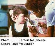 Childhood vaccine schedule is safe, report says