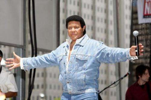 Chubby Checker performs a free concert on July 9, 2010 in Philadelphia, Pennsylvania