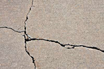 Concrete which can heal its own cracks