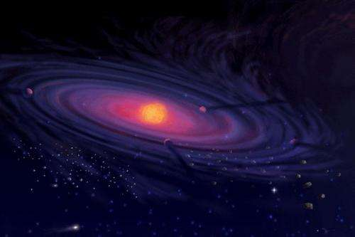 Cosmic turbulences result in star and black hole formation