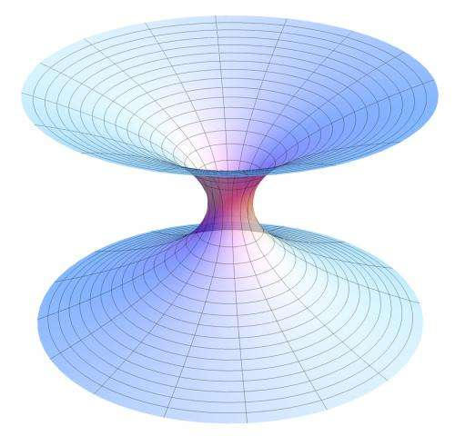 Creation of entanglement simultaneously gives rise to a wormhole