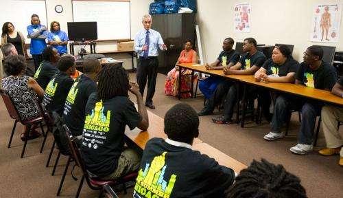 Crime Lab study finds youth employment program has impact on violent crime arrests