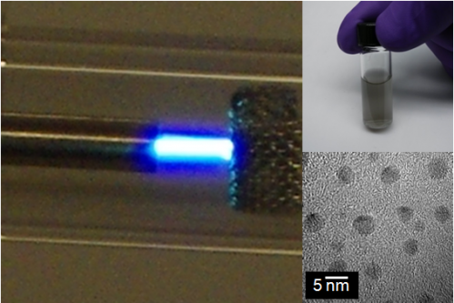 CWRU makes nanodiamonds in ambient conditions