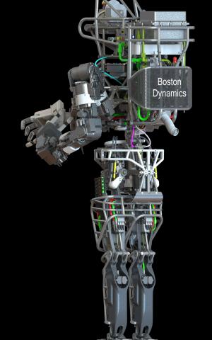 Darpa's atlas robot unveiled
