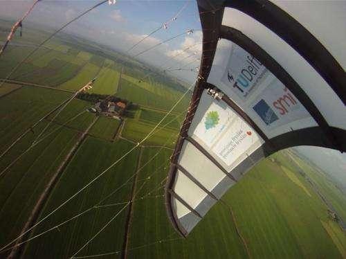 Delft professor puts kites high on list for renewable energy