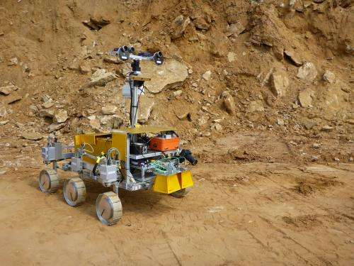 Desert trial for ESA Mars rover