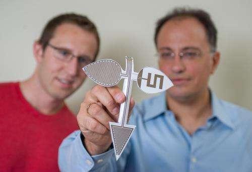 Developing unique origami-shaped antennas