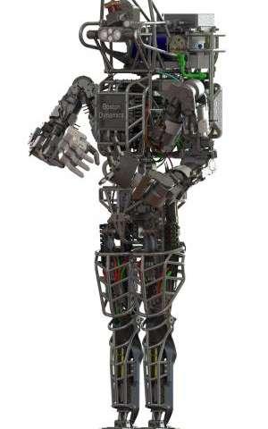 Darpa's atlas robot unveiled (w/ Video)
