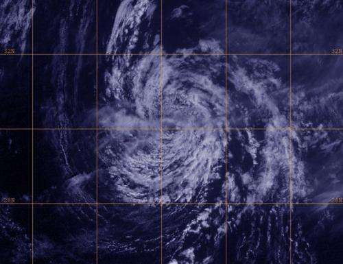 Dry air and cooler waters weakening Tropical Depression Lorenzo