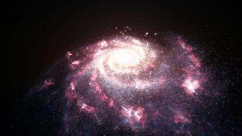 Entire galaxies feel the heat from newborn stars