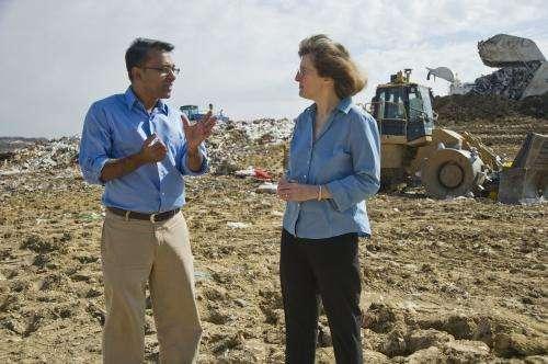EPA engages UT Arlington environmental engineers team to generate energy from landfills in Ghana