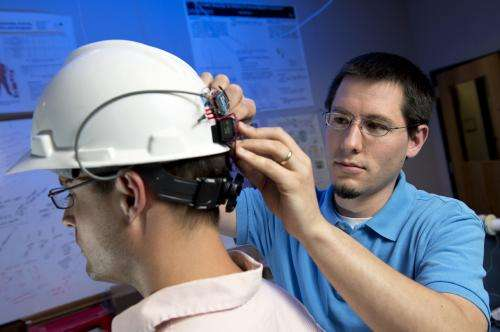 Equipping a construction helmet with a sensor can detect the onset of carbon monoxide poisoning