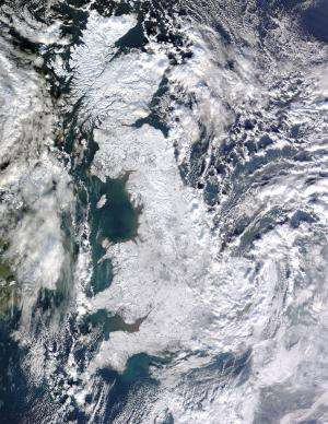 European winter weather harder to forecast in certain years