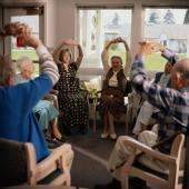Exercise may help people with alzheimer's avoid nursing homes