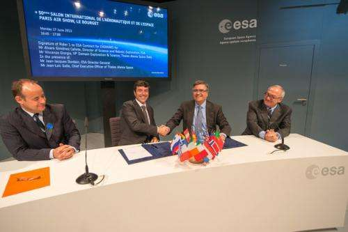ExoMars 2016 set to complete construction