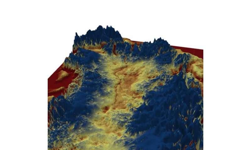 Mega-canyon discovered beneath Greenland ice sheet