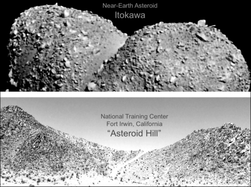 Field tests in Mojave Desert pave way for human exploration of small bodies