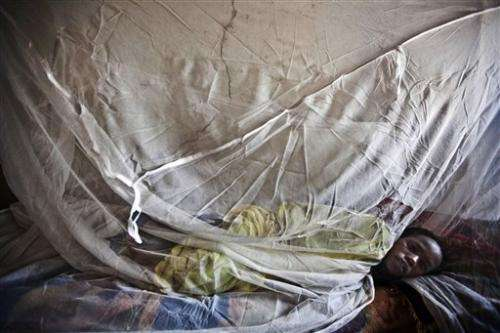 Fight against malaria slows, fewer nets given out