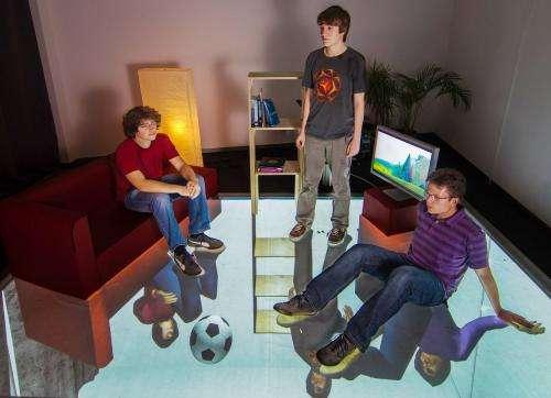 GravitySpace shows how floors will smarten up