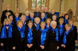 First large scale community study into the value of group singing for older people with lung disease