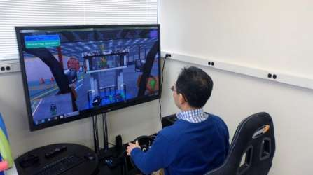 First-of-its-kind forklift simulator could reduce injuries, deaths