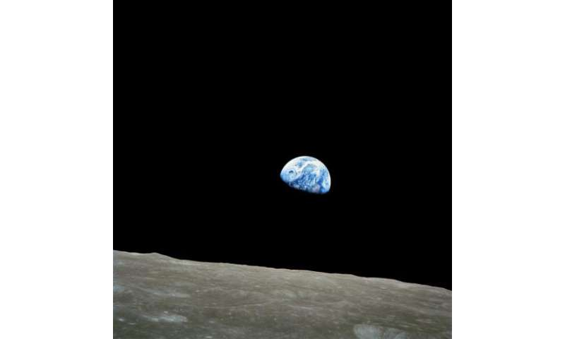 Forty-Fifth Anniversary of 'Earthrise' Image