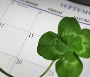 Friday the 13th and other bad-luck beliefs actually do us some good