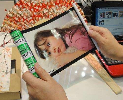 Fujifilm shows off bendable 'Beat' diaphragm speaker