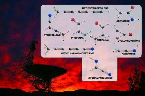 Discoveries suggest icy cosmic start for amino acids and DNA ingredients